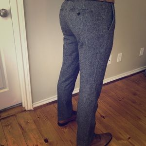 Ted Baker London grey textured pants